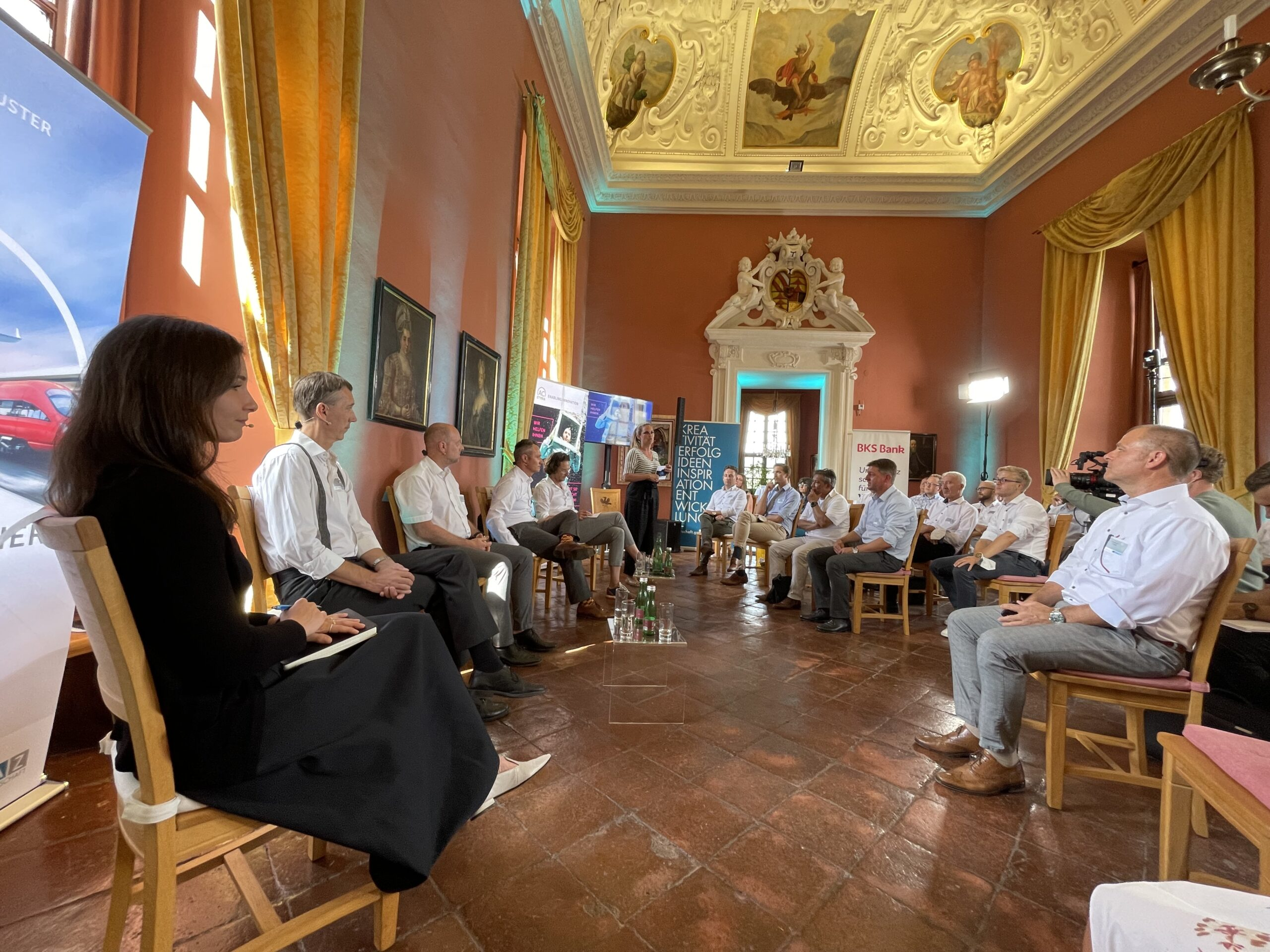 ACstyria Experts Lounge: Digitalisierung – Bahn 4.0