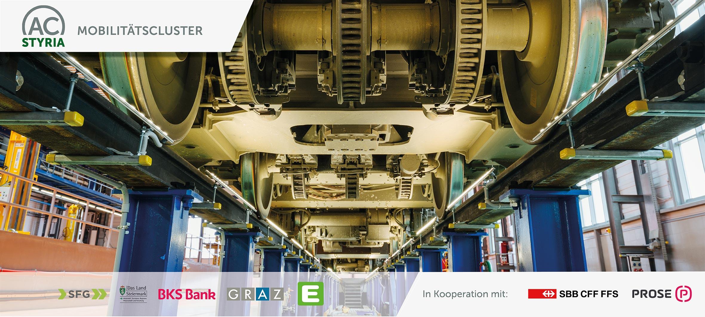 ACstyria Technologiemeeting Rail Systems: ECM – Chancen für Bahn-Zulieferer